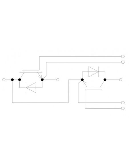 Modulo IGBT Infineon BSM200GB60DLC